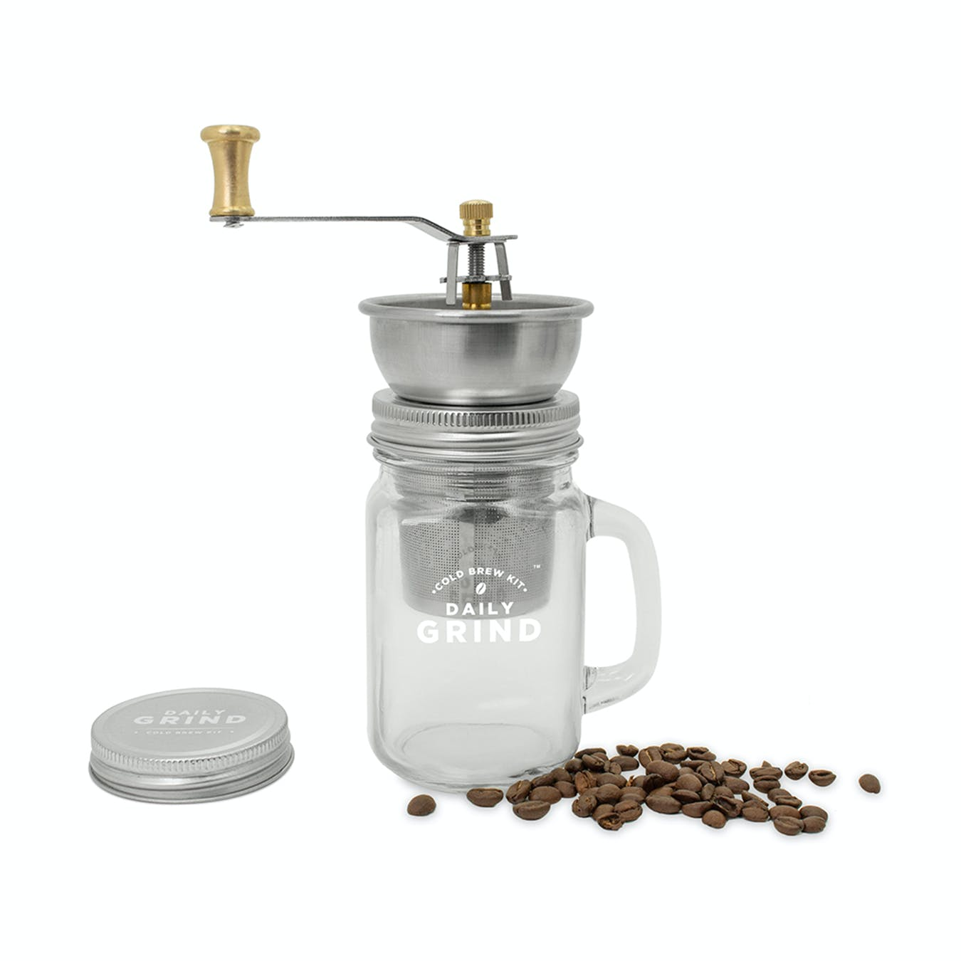 LUCKIES Daily Grind Cold Brew Coffee Set
