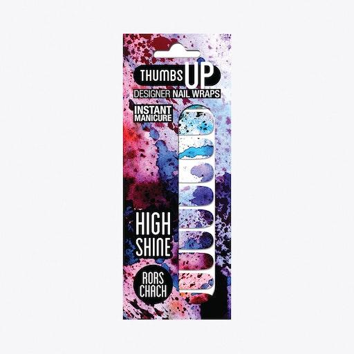 Rorschach High Shine Nail Wraps