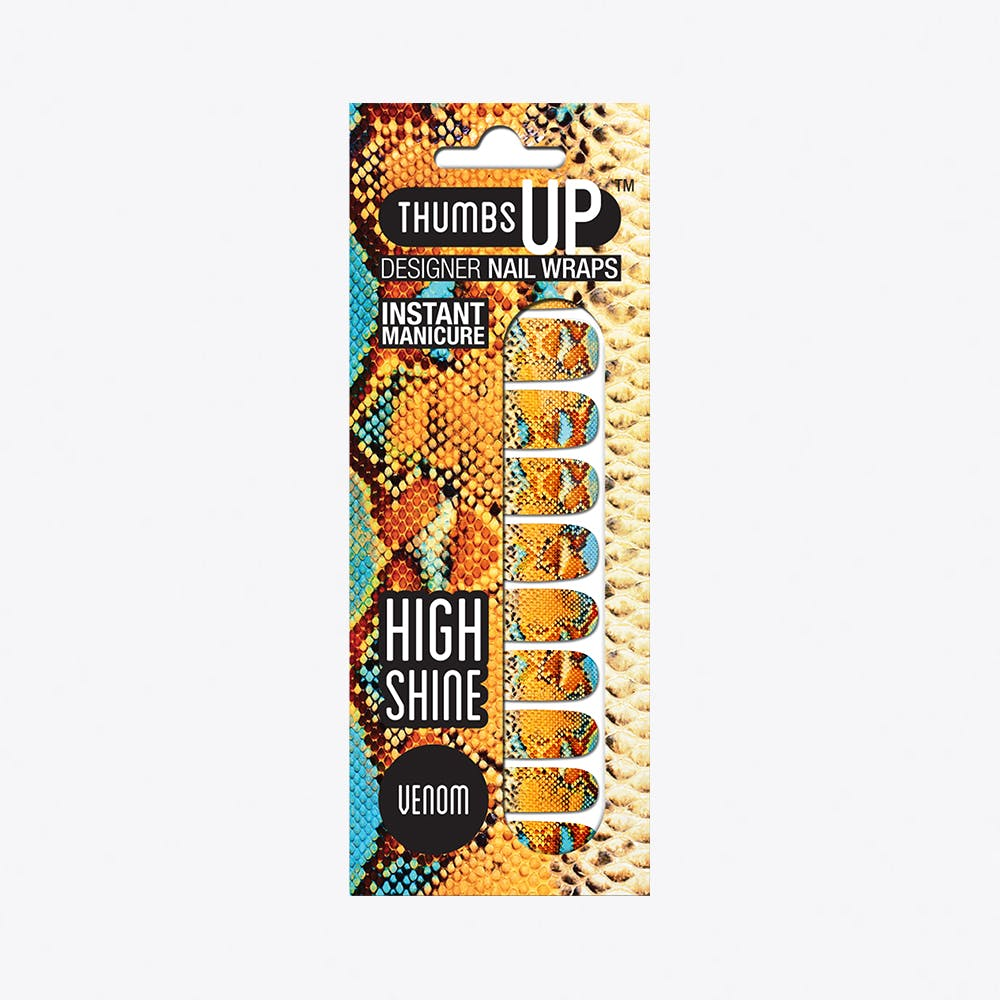 Venom High Shine Nail Wraps