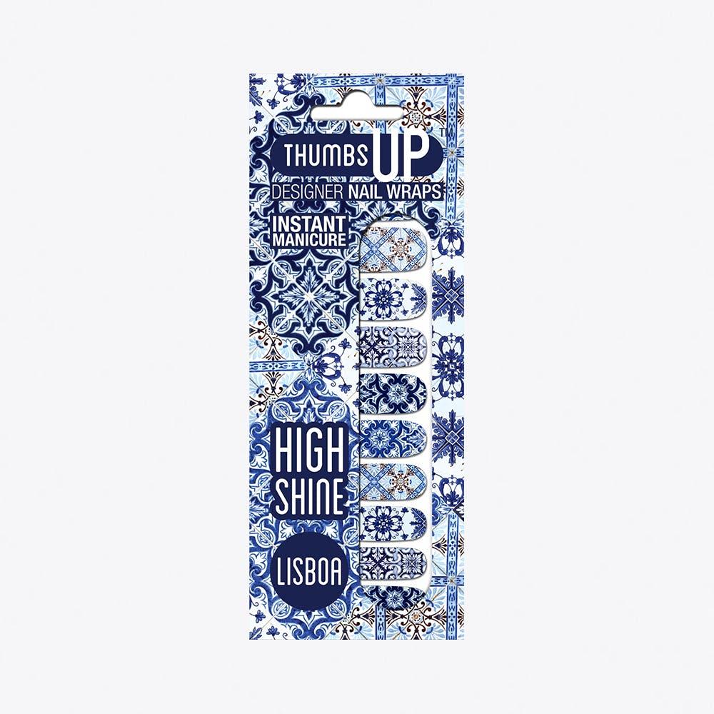 Lisboa High Shine Nail Wraps