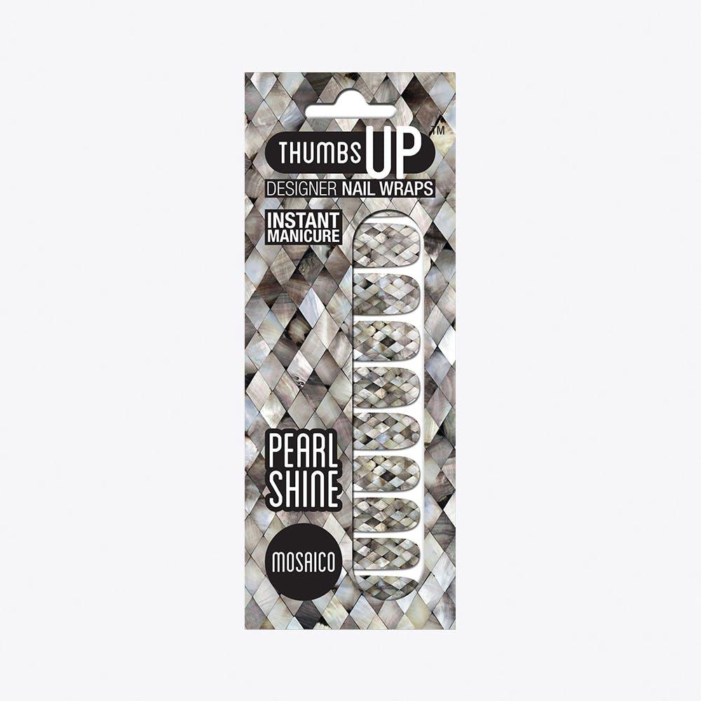 Mosaico Pearl Shine Nail Wraps