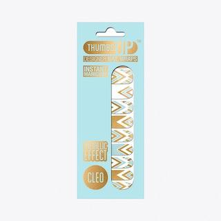 Cleo Metallic Nail Wraps