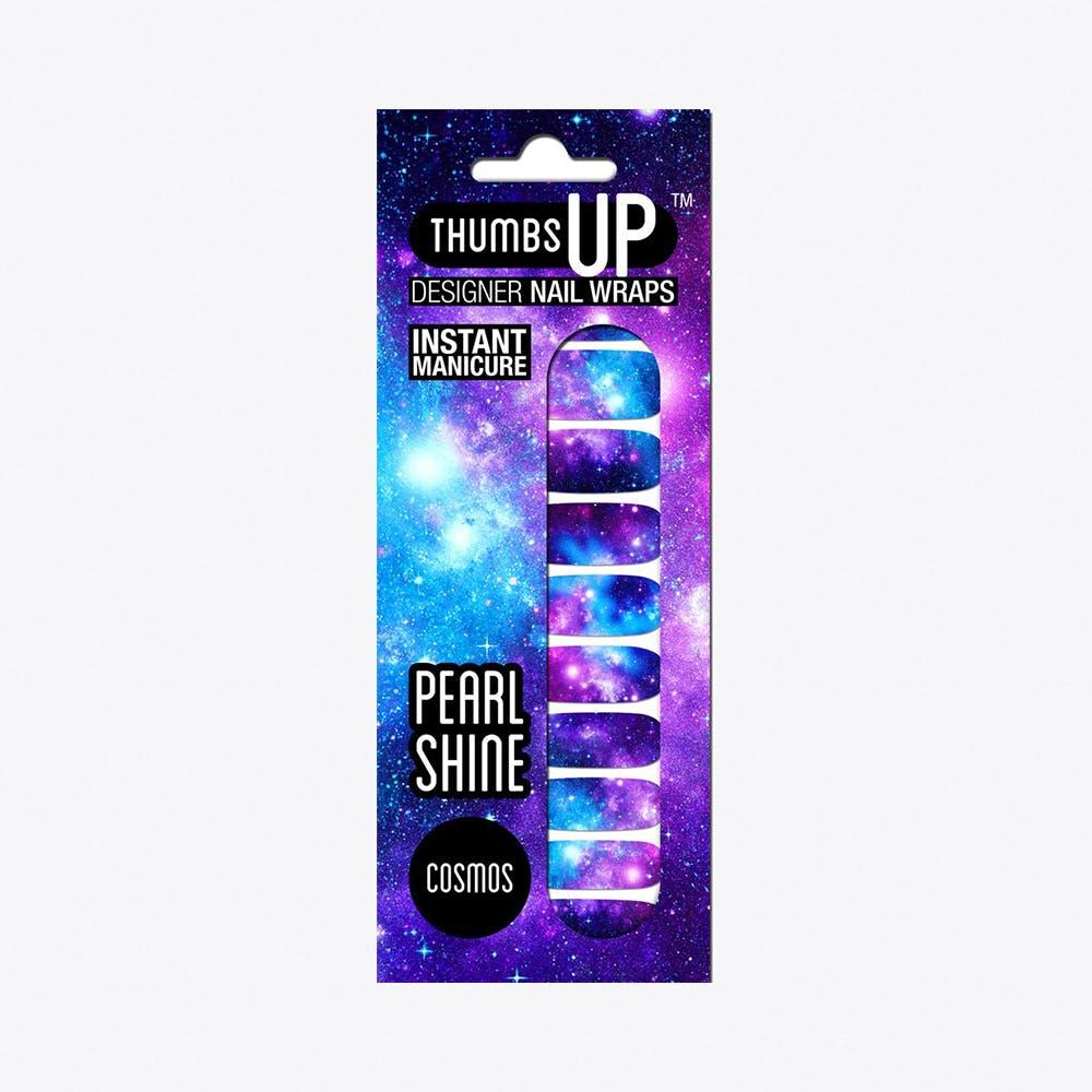 Cosmos Pearl Shine Nail Wraps