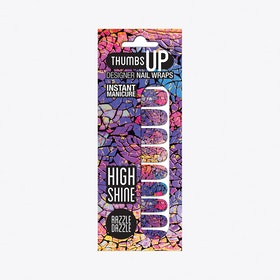 Razzle Dazzle High Shine Nail Wraps