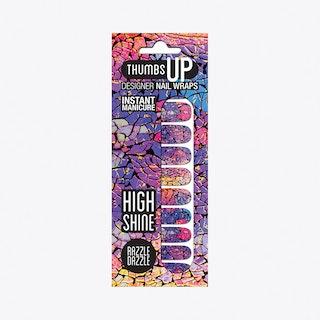 Razzle Dazzle High Shine Nail Wraps