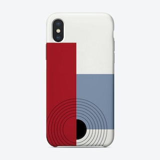 Abstract Two Phone Case