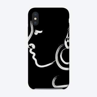 Luna In Black Phone Case