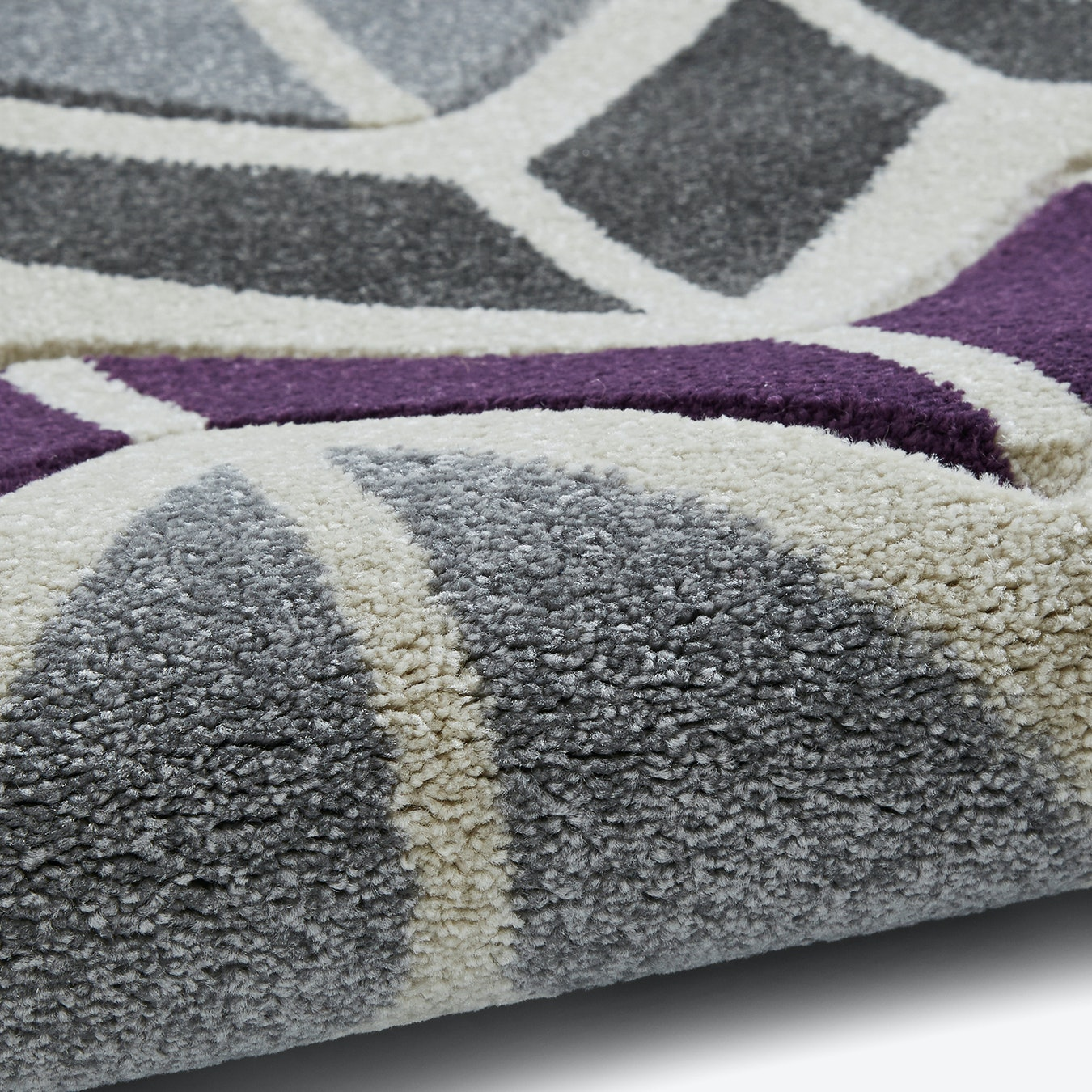 Matrix Camillo Rug Grey Purple By