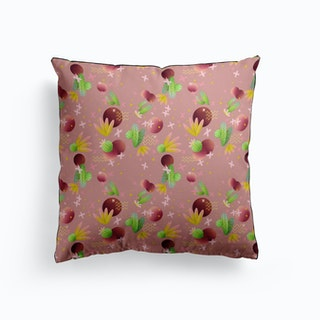 Raving Desert Dusty Rose Cushion