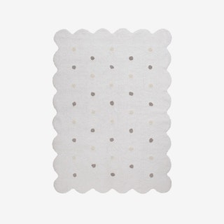 Biscuit White - Washable Rug