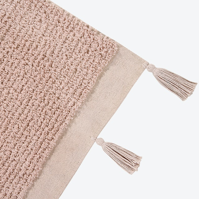 Butterfly Vintage Washable Rug, Nude - Lorena Canals Rugs