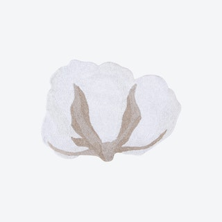 Washable Rug - Cotton - Flower