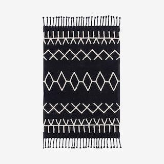 Bereber Black - Washable Rug