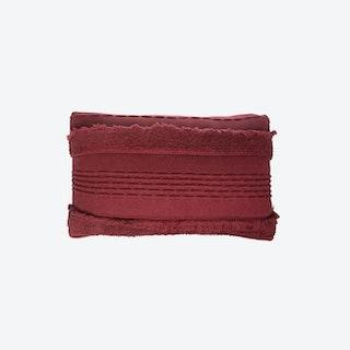 Knitted Cushion - Air - Savannah Red