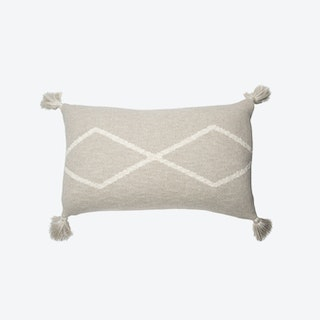 Knitted Cushion Oasis Soft Linen