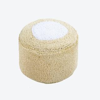 Pouffe - Marshmallow Round - Vanilla