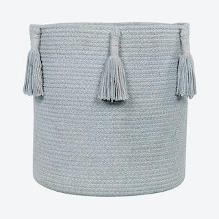 Woody Basket - Pearl Blue
