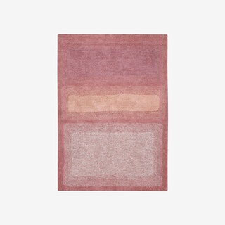 Water Canyon Rose - Washable Rug