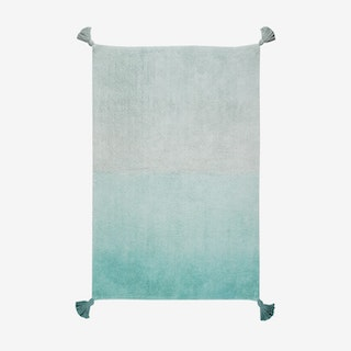 Ombré Emerald - Washable Rug