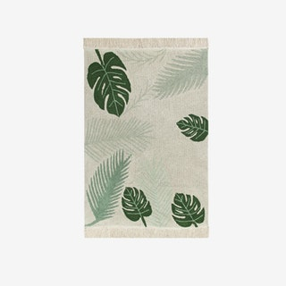 Tropical Verde/Tropical Green - Washable Rug