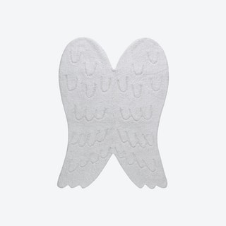 Wings Silhouette - Washable Rug
