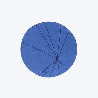Trace Sapphire - Washable Rug