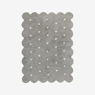 Biscuit - Grey - Washable Rug