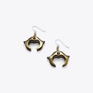 Hook Earrings in Sterling Silver