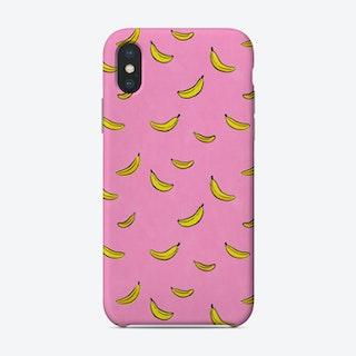 Pink Bananas Phone Case