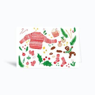 All Things Merry Greetings Card