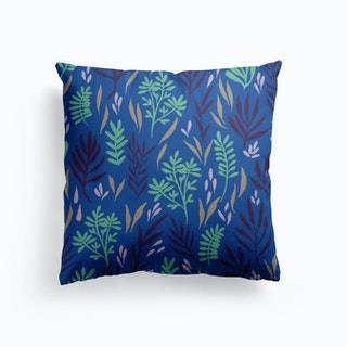 Blue Waters Canvas Cushion