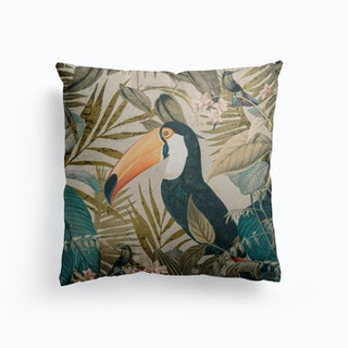 Jungle Toucan Cushion