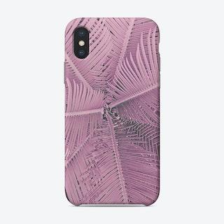 Palm Pastel Pink Phone Case
