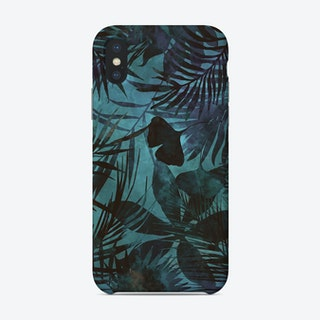 Blue Jungle Phone Case
