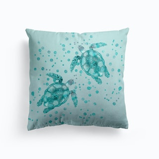 Glamour Turtles Cushion
