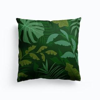 Green Jungle Cushion