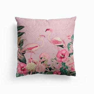Flamingo Paradise Cushion