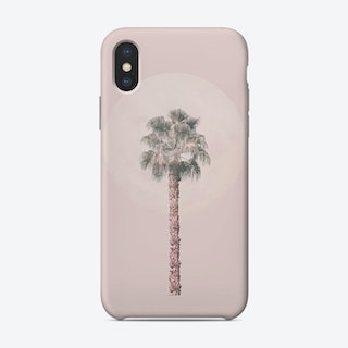 Pastel Pink Palm Tree Phone Case
