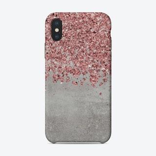 Rose Gold Glitter Phone Case