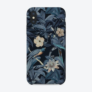 Junglebirds At Night Phone Case