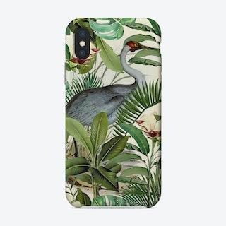 Tropical Heron Phone Case