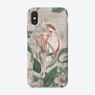 Nostalgic Cockatoo Jungle Phone Case