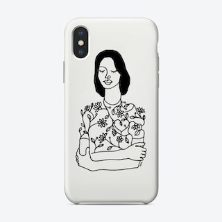 Dress With Flowers Phone Case