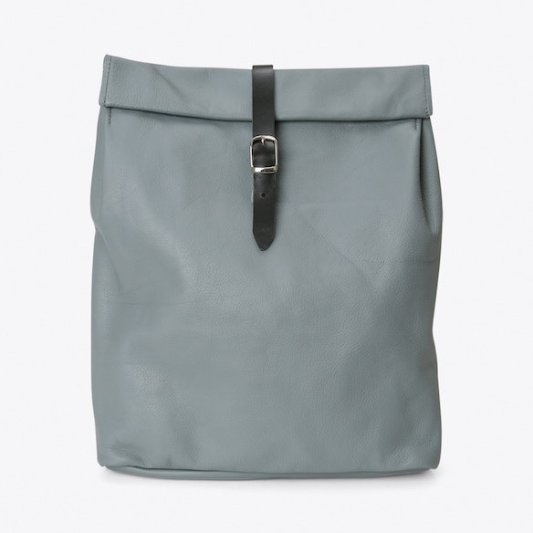 Rolltop Backpack in Grey by Kokosina. Discover Bags on Fy 93d751b59542f