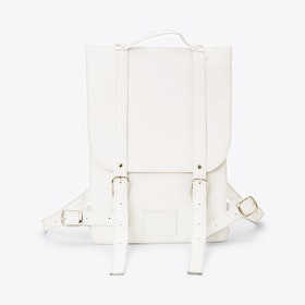 Small Backpack in White