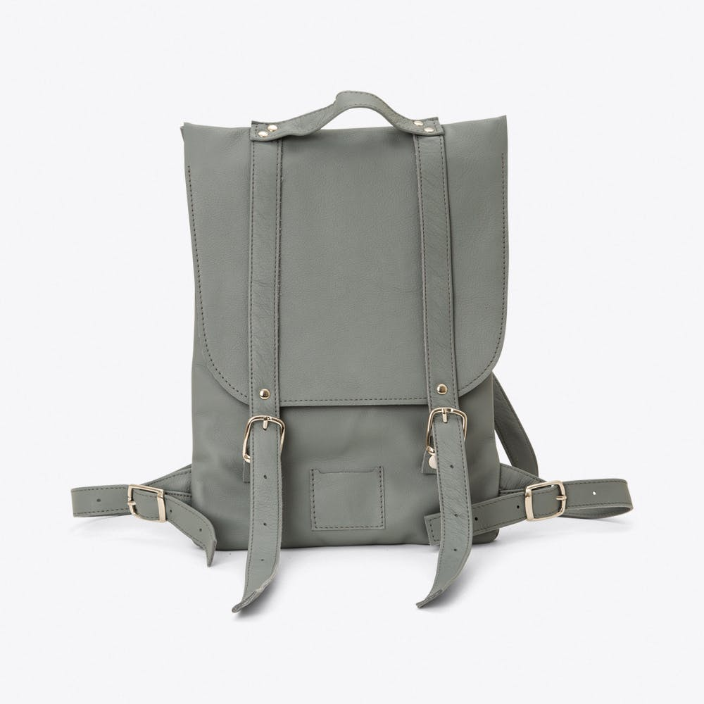 Small Backpack in Grey