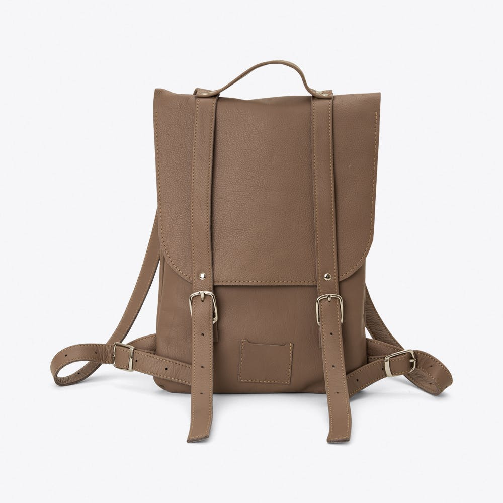 Small Backpack in Dove