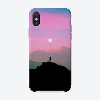 Purple Mountain Phone Case