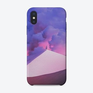 Purple Desert Phone Case