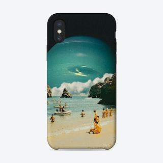 Space Beach Phone Case